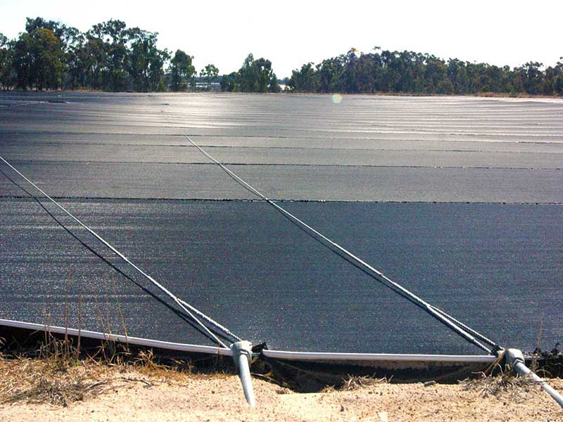 Dam Covers -  reducing evaporation
